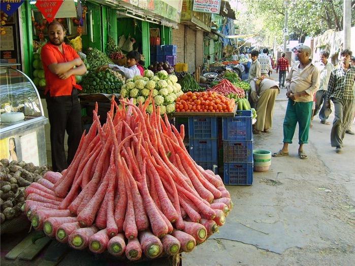 овощные рынки в дели