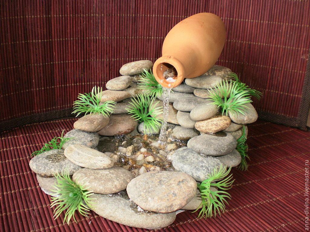 Комнатный фонтан своими руками